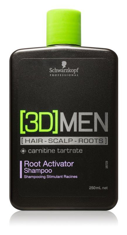 Schwarzkopf Professional [3D] MEN champú para activar las raíces